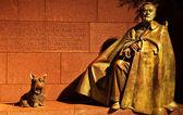 Franklin Delano Roosevelt Memorial Statue Night Washington DC — Stock Photo