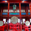 Ancient Chinese Drums Drum Tower Beijing, China — Stock Photo