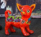 Mexican Colorful Souvenir Ceramic Chihuahua Dog San Diego Calfor — Stock Photo
