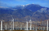 Wind Turbines Coachella Valley Palm Springs California — Stock Photo