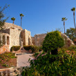 图库照片: Mission SJuCapistrano Church Ruins California