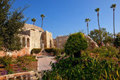 Mission San Juan Capistrano Church Ruins California — Stock Photo