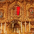 Golden Altar Serra Chapel Mission San Juan Capistrano Church Ca — Stockfoto