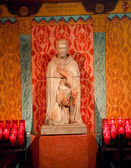 St. Peregrene's Shrine, Cancer Saint, Serra Chapel Mission San J — Stock Photo