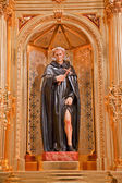 St Peregrine Statue Mission Basilica San Juan Capistrano Church — Stock Photo