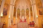 サン ・ フランチェスコ アッシジの祭壇、サンフランシスコ c の国民の神社 — ストック写真