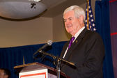 Newt Gingrich 2-24-2012 Federal Way, Washington — Stock Photo