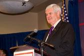 Newt Gingrich 2-24-2012 Federal Way, Washington — Stock Photo