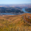 Lewiston Hill Snake River Idaho — Stock Photo #9248449