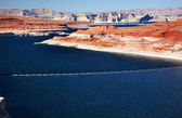 Lake Powell Glen Canyon Dam Arizona — Stock Photo
