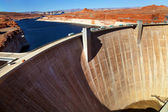 Glen Canyon Dam Lake Powell Arizona — Stock Photo