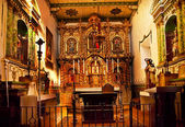 калифорния серра часовня миссии сан-хуан капистрано церкви — Стоковое фото