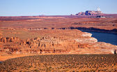 Navajo Generating Station Lake Powell Glen Canyon Recreation Are — Stock Photo
