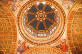 Saint Matthew Cathedral Basilica Dome Washington DC — Stock Photo