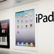 Window display of ipad — Stock Photo