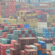 Hong Kong Kwai Chung Container Terminal — Stock Photo