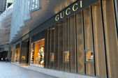 Gucci boutique — Fotografia Stock