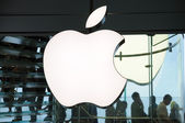 Marchio di apple inc — Foto Stock