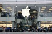 香港の apple ストア — ストック写真