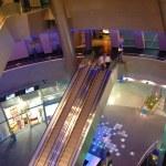 Modern mall interior — Stock Photo