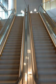 Escalator up and down — Stock Photo
