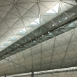 Interior of modern international airport — Stock Photo