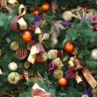 Christmas ornaments on tree — Stock Photo #8820511