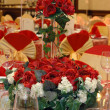 Stock Photo: Wedding banquet table setting