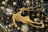 Christmas decoration of a deer — Stok fotoğraf