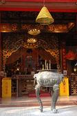 алтарь в китайский храм — Стоковое фото