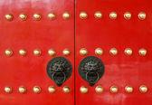 Porte de temple chinois — Photo