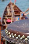 Davul dargon tekne detayları — Stok fotoğraf