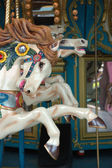 Close up of carousel horse — Stock Photo