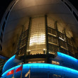 Night scene of Hong Kong Convention and Exhibition Centre — Foto Stock