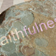 Royalty-Free Stock Photo: Faithfulness on stone background