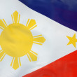 Philippine flag — Stock Photo