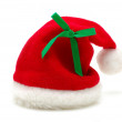 Red santa claus hat — Stock Photo