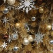 Ornaments on christmas tree — Stock Photo #8872719