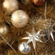 Ornaments on christmas tree — Stock Photo #8872734