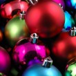 Multi-color christmas balls — Stock Photo #8872790