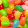 Multi color jelly beans — Stock Photo