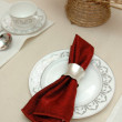 Stock Photo: Elegant table cloth