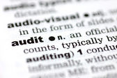 Definizione di audit — Foto Stock