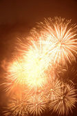 Fireworks explosion — Stock Photo