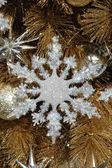 Sneeuwvlok ornament — Stockfoto