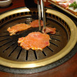 Korean barbecue — Stock Photo