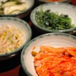 Korean side dishes — Stock Photo