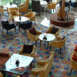 Interior of hotel restaurant - ストック写真