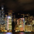Night scene of Hong Kong cityscape — Stockfoto