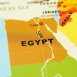 Royalty-Free Stock Photo: Egypt on map